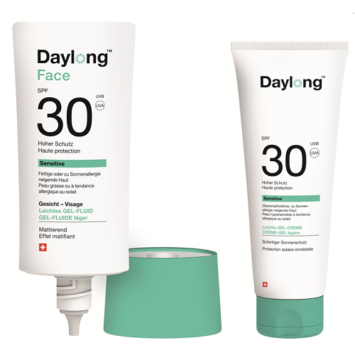 Daylong sensitive sun care