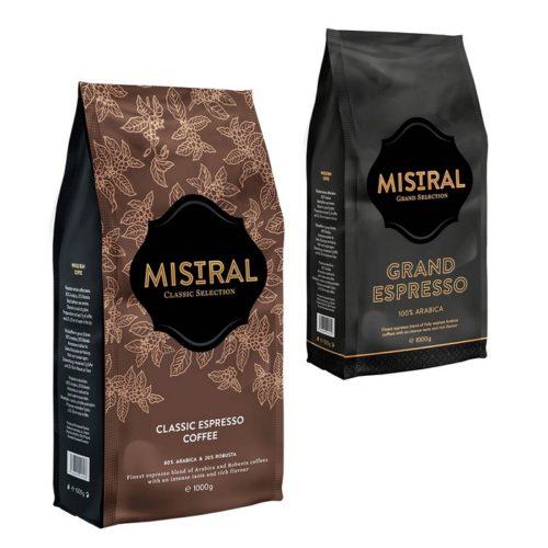 Popradská zrnková káva Mistral
