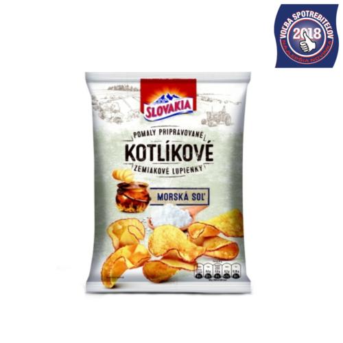 Slovakia Kotlíkové Zemiakové Lupienky Morská soľ