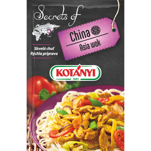 Kotányi Secrets of China Asia wok