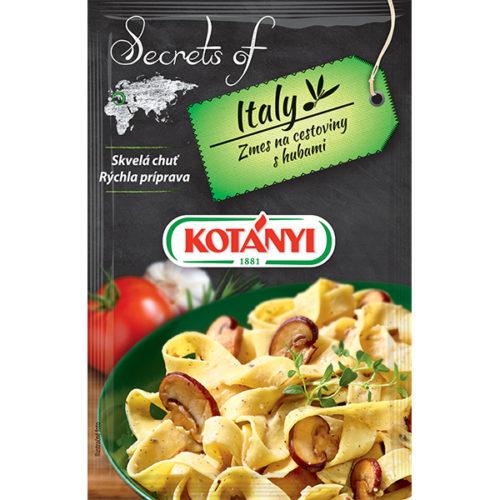 Kotányi Secrets of Italy Zmes na cestoviny s hubami
