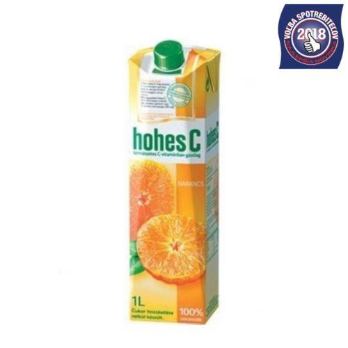 Hohes C ovocná šťáva pomaranč 100%
