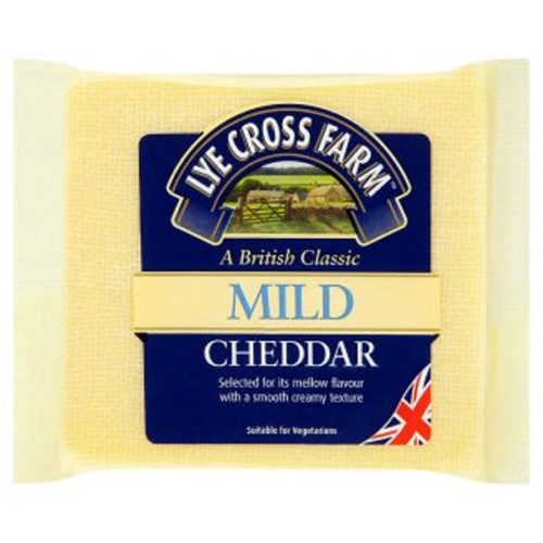 Lye Cross Farm English mild white cheddar
