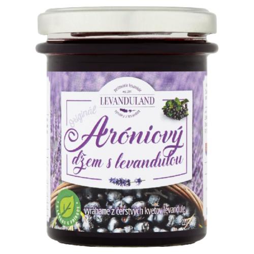 Aróniový džem s levanduľou
