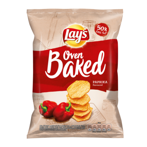 Lay's Oven Baked paprika