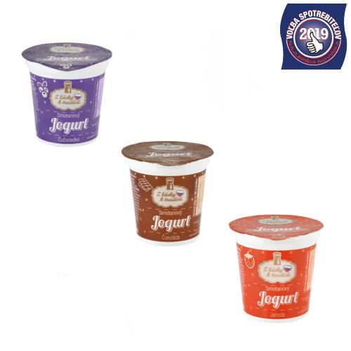 Z lásky k tradícii Smotanový jogurt
