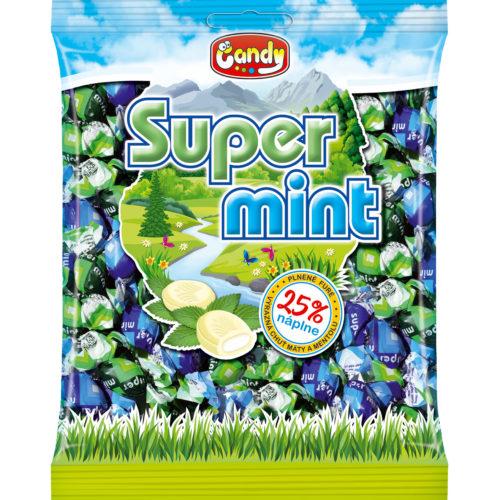 """SUPER MINT plnené furé  """"Candy"""" 300g"""