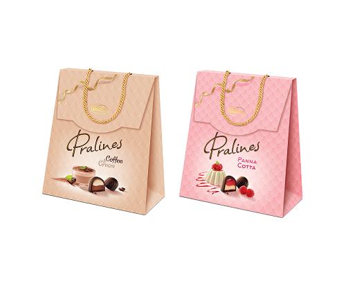 Čokoládové bonboniéry Pralines