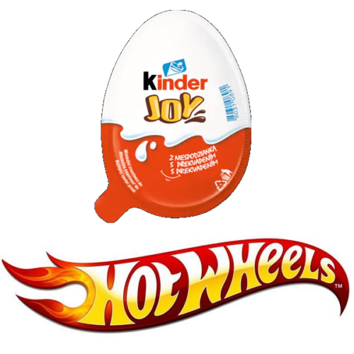 Kinder Joy Hot Wheels