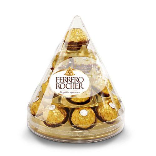 Vianočná mini-pyramída Ferrero Rocher