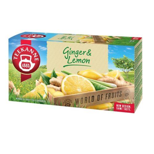 TEEKANNE Ginger & Lemon