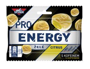 SFINX Pro Energy želatínové cukríky