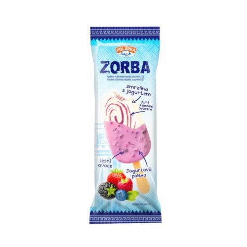 Jogurtová zmrzlina Zorba s lesným ovocím
