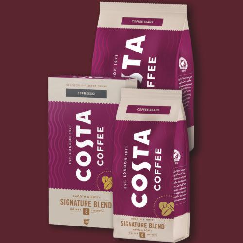 Prémiová káva Costa Coffee