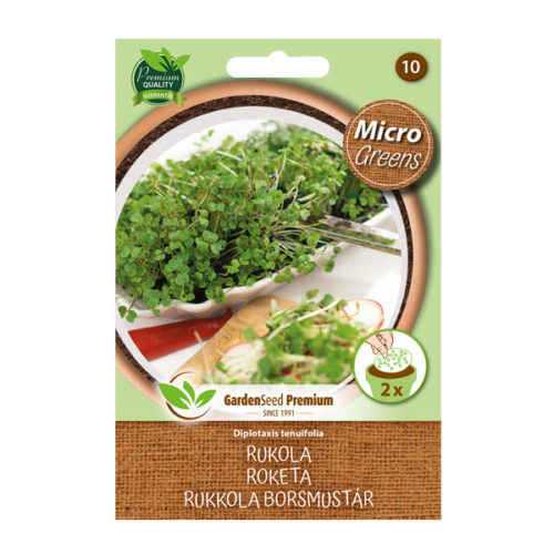 Mikrozelenina / Microgreens  – výsevné disky