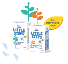 Nová dojčenská výživa LITTLE STEPS®