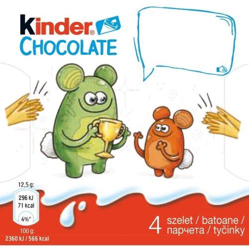 Obrázková edícia Kinder Chocolate