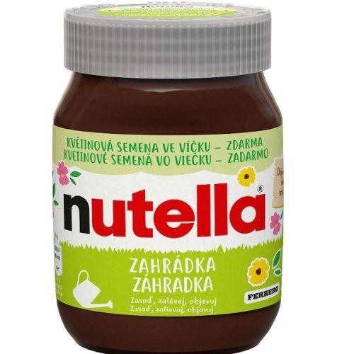 Nutella Záhradka