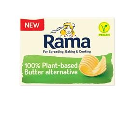 Rama 100% rastlinná alternatíva masla